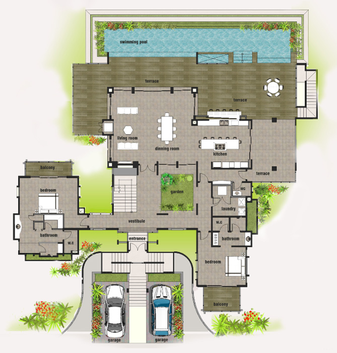 Costa rica home floor plans for Costa rica house plans